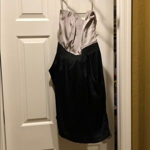 Strapless dress-H&M
